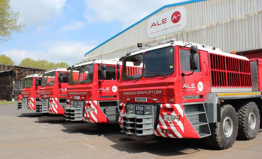 Ale Completes Build Of The Trojan Trucks Trucks Uk Haulier