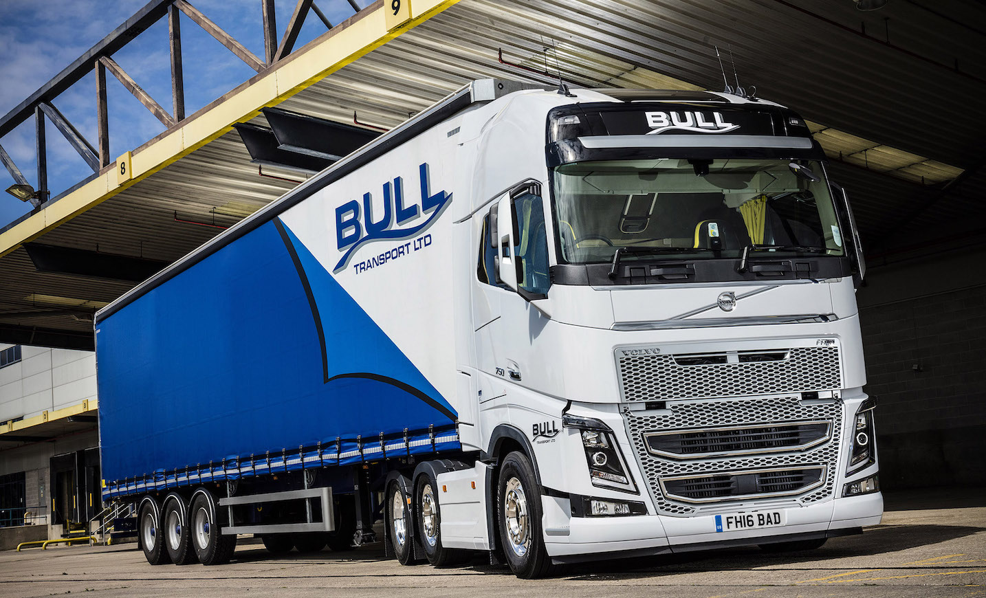 More In Store As Bull Transport S Volvo Fh16 750 Hits The