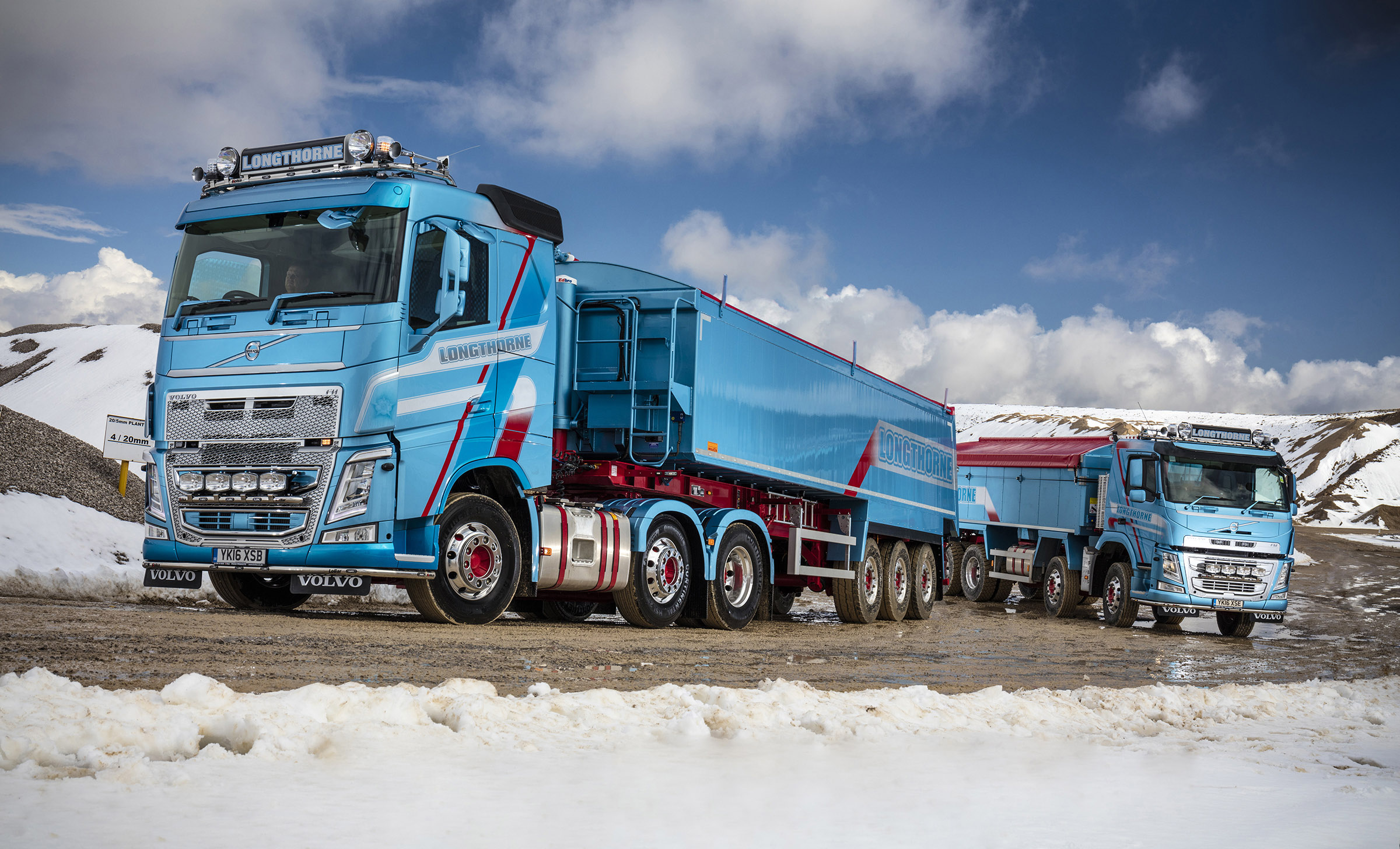 Longthorne Refreshes Fleet With Five New Volvo Trucks
