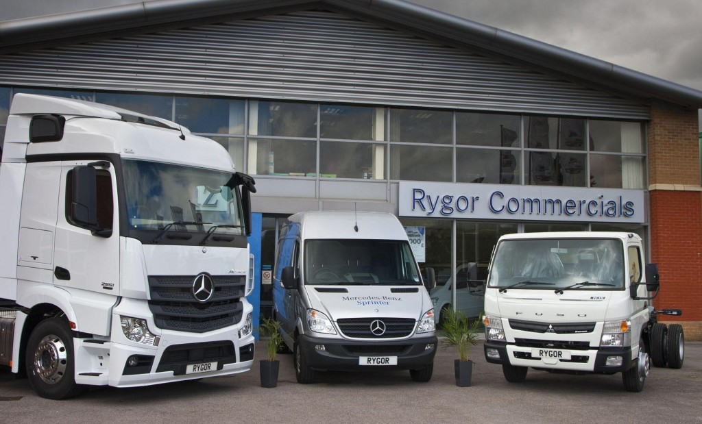 Grays truck van take off from new site in croydon for Mercedes benz commercial trucks