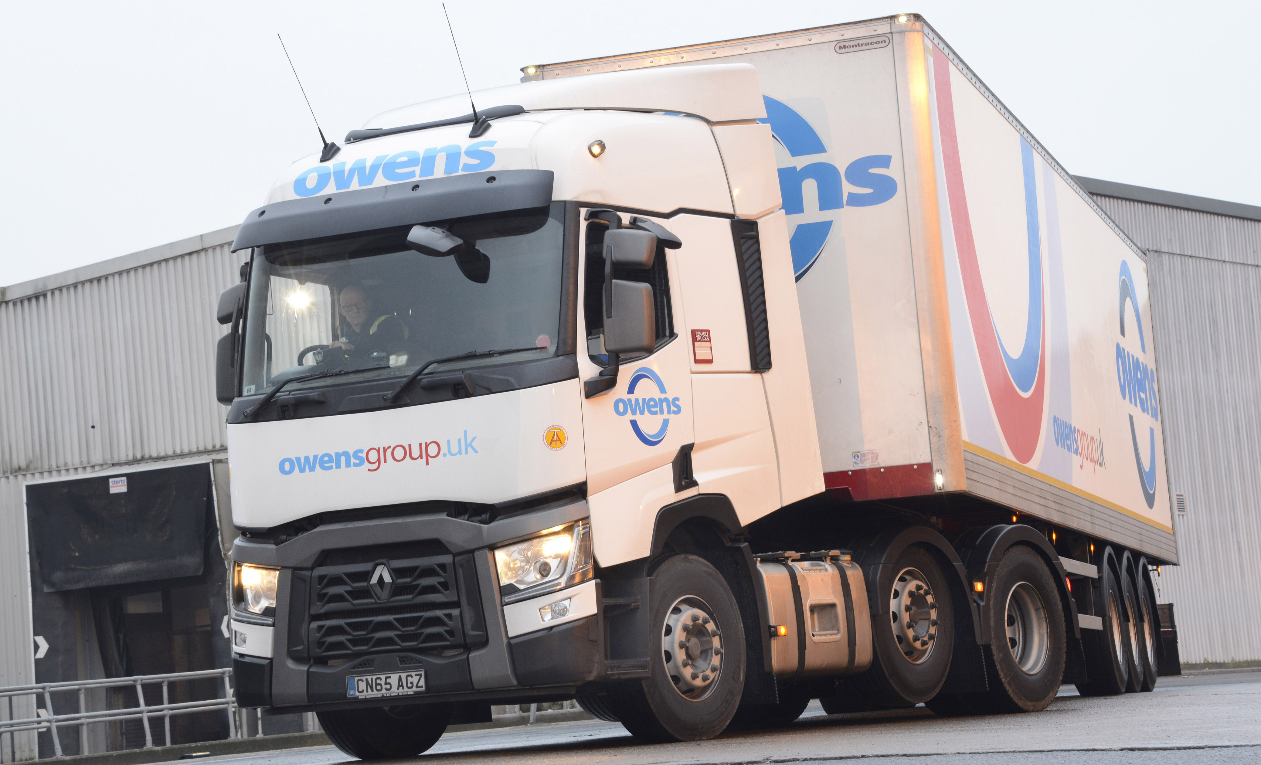 Owens Group Expands Fleet With Renault Trucks Range Ts