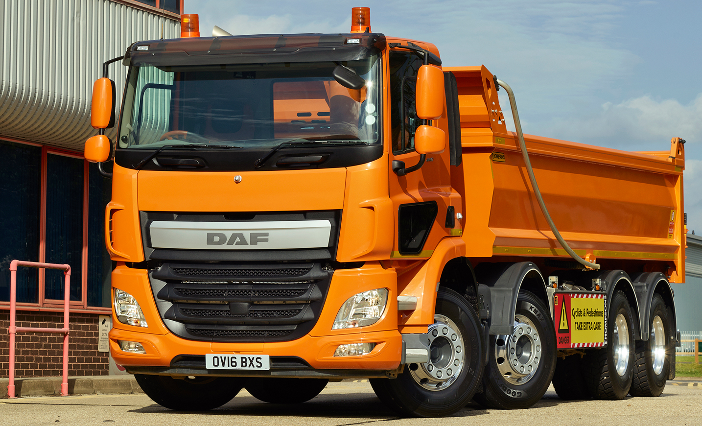 Daf Trucks Gets A Clearer View At Freight In The City