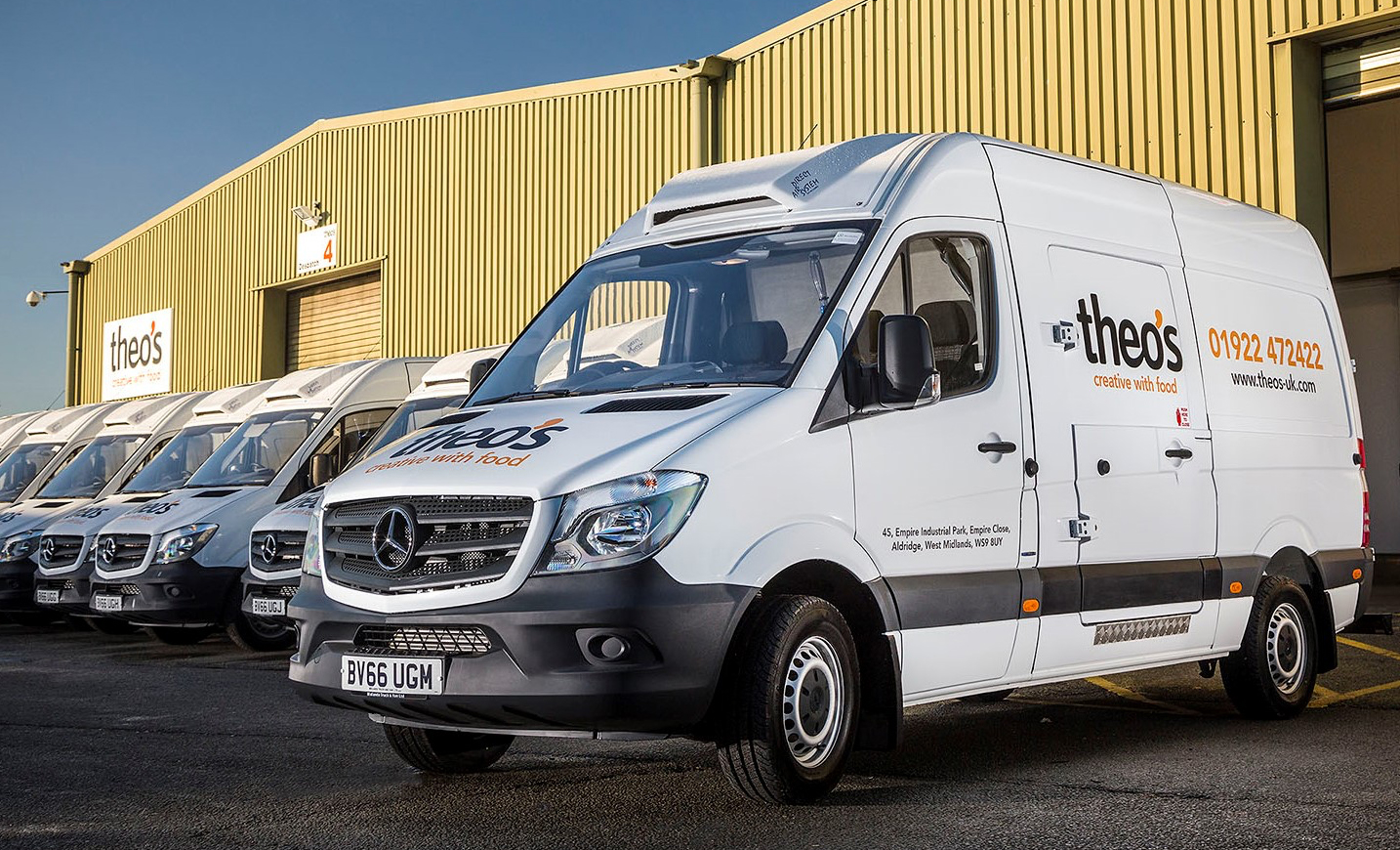 Mercedes benz vans are the healthy option for theo s for Mercedes benz vans uk