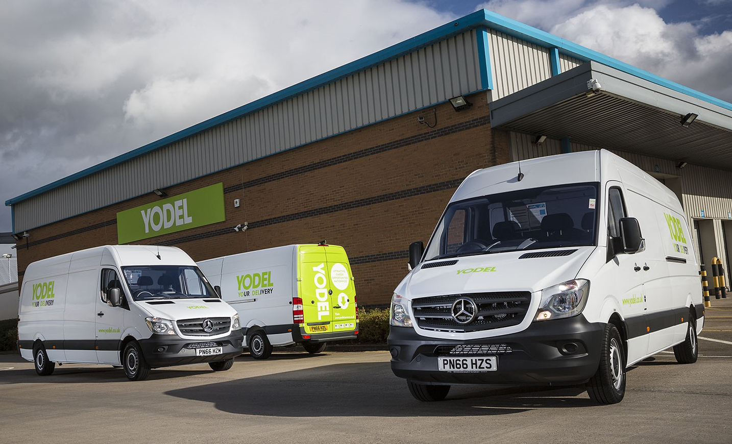 Yodel Puts Safety First With 200 More Mercedes Benz
