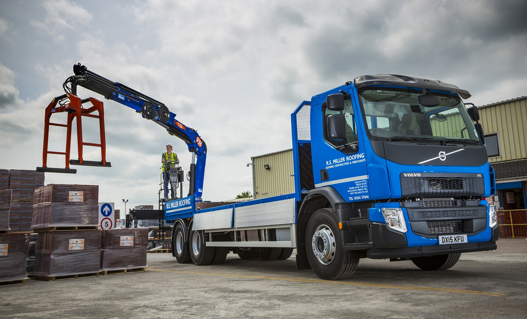 R S Miller Aims For The Rooftops With New Volvo Fe