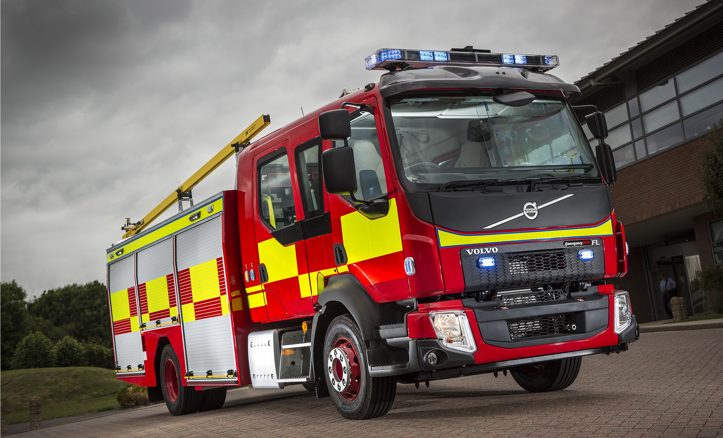 Volvo Trucks Fired Up For The Emergency Services Show