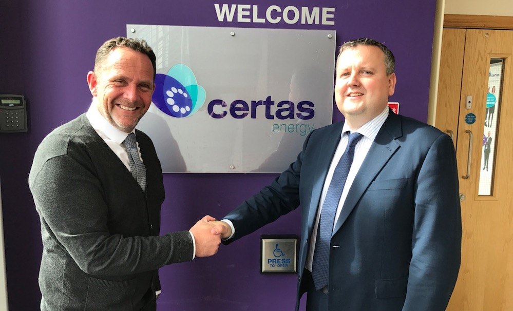 Certas Energy UK strengthens relationship with Shell Lubricants