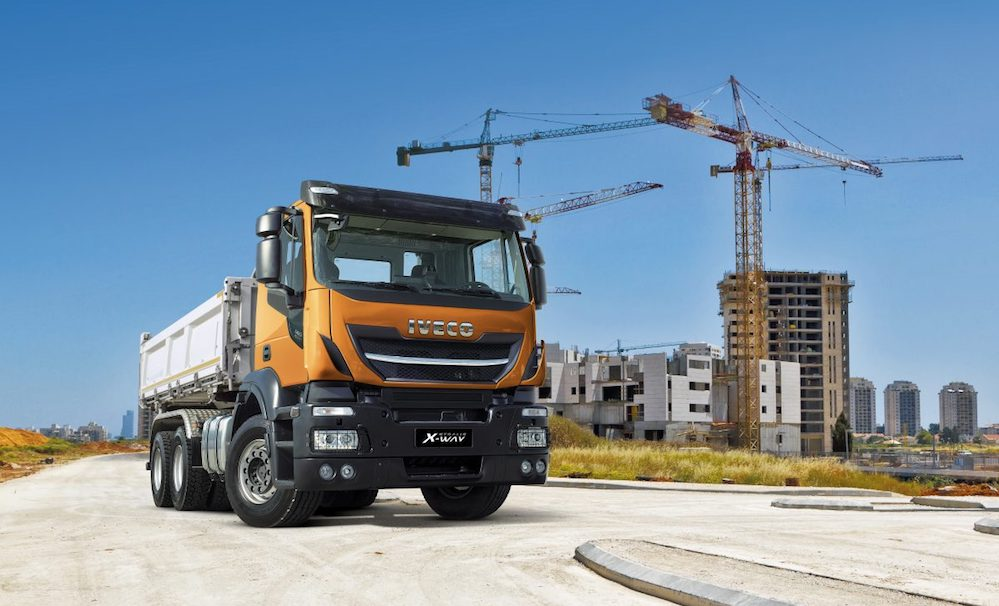 iveco previews new stralis x way a light off road truck