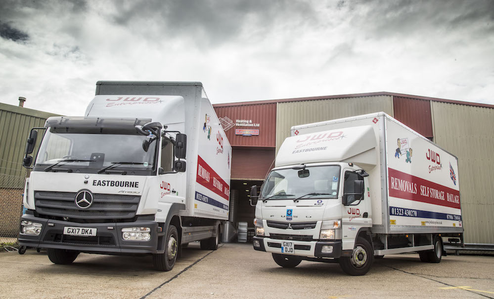 Multi-talented FUSO Canter is a hit with JWD | Fleet UK Haulier
