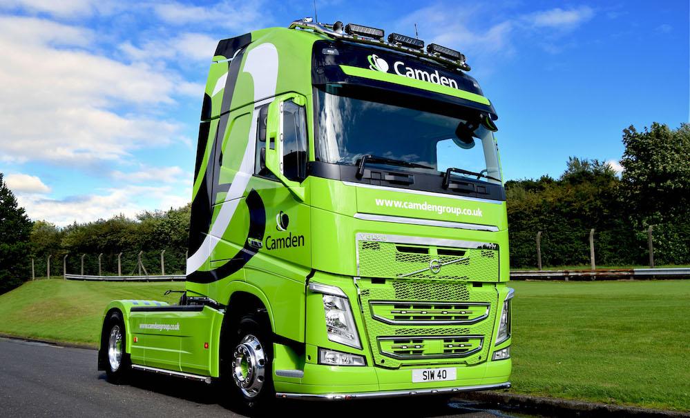 New flagship Volvo FH for Camden Group | Fleet UK Haulier