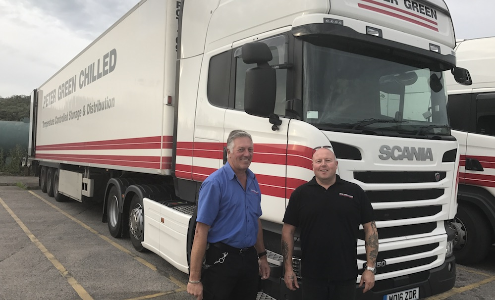 Peter Green Chilled Employee Named Best Hgv Driver In Uk