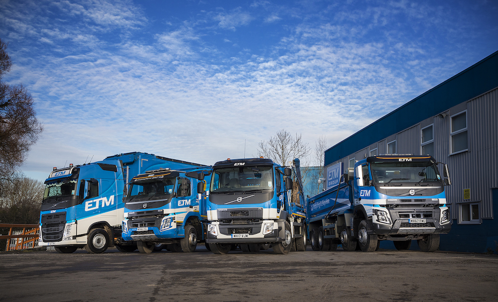 Volvo Trucks range brings change at ETM Recycling | Fleet UK