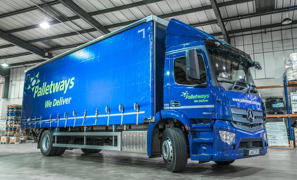 New mercedes benz fleet stacks up for palletways fleet for Mercedes benz fleet