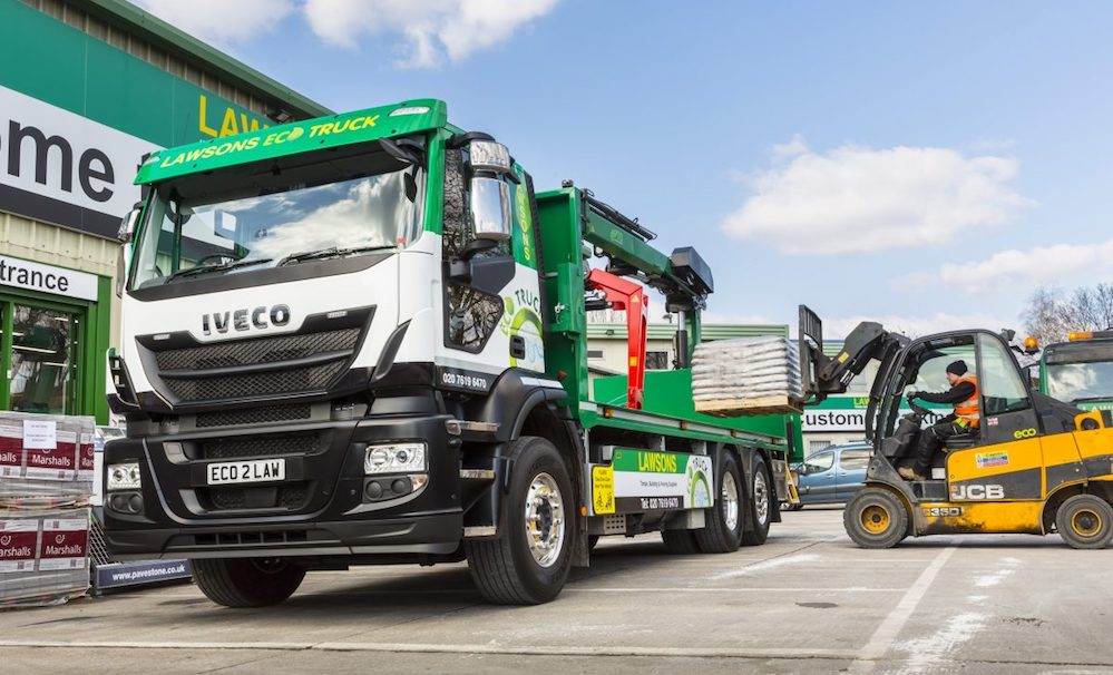 Lawsons Adds First Gas Powered Heavy Truck To Its London