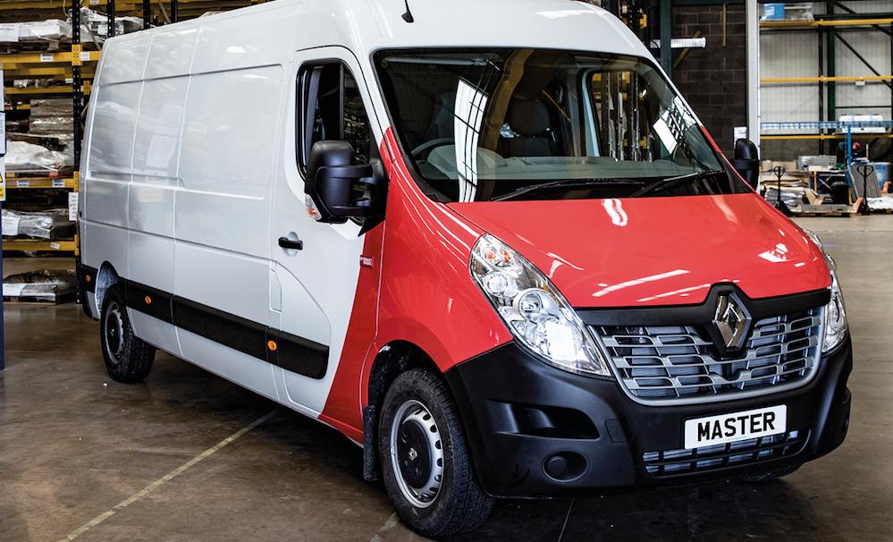 779a31a54a Renault Trucks master wins best Technical Innovation Award