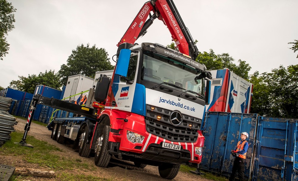 Mercedes benz arocs flagship lifts jarvis group to a new for Mercedes benz news