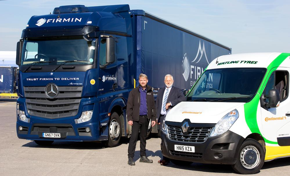 Firmin adds three years to Watling and Continental Tyres contract | Tyres UK Haulier