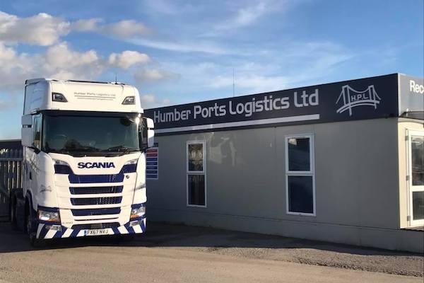 Humber-Ports-Logistics-Ltd-Scania-Truck