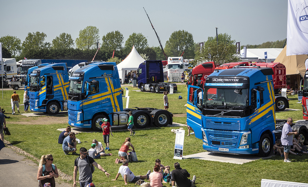 Volvo Brings A Fantastic Fh Fleet To Truckfest