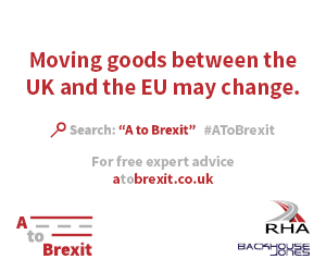 RHA - Moving goods between the UK and EU may change