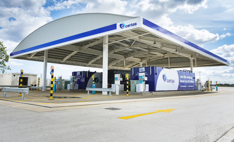 Red Lion Truckstop >> Certas Energy HGV refuelling bunker opens in ...