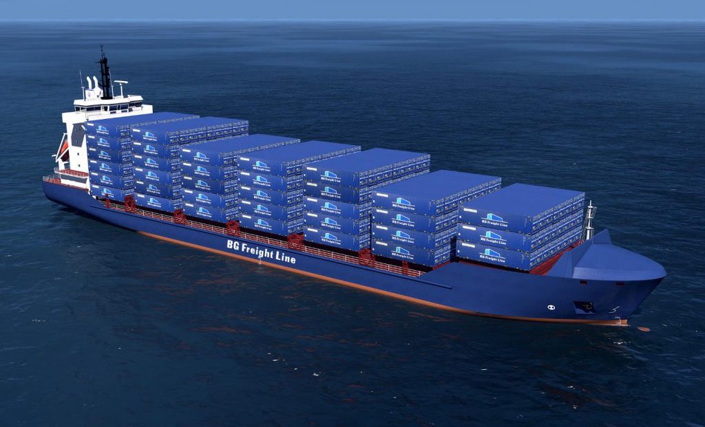 BG-Freight-Line-Vessel-Feeder-SHip-Containers-UK-Haulier-News
