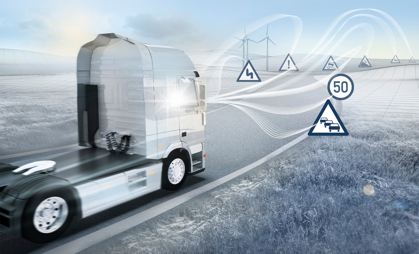 visionx truck concept leads series of new bosch cv
