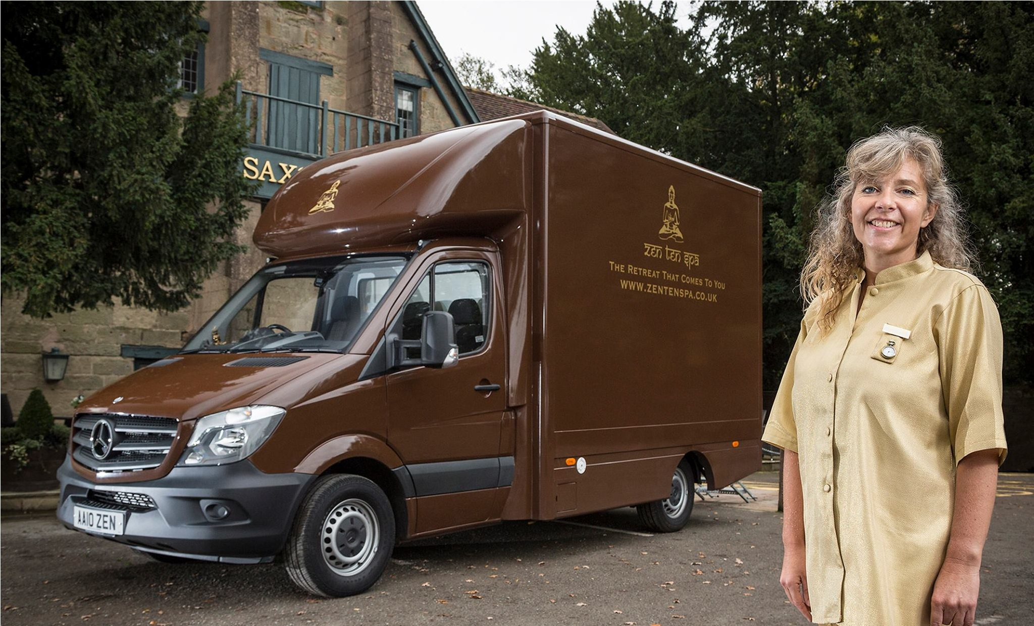 Caroline S Mercedes Benz Sprinter Is The Retreat That