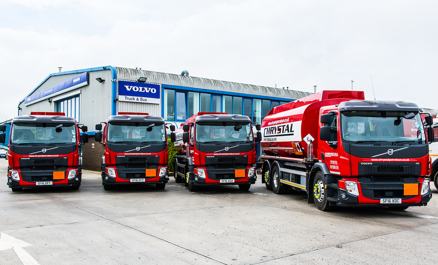Volvo Fe Tankers With I Shift Strike Gold For Chrystal