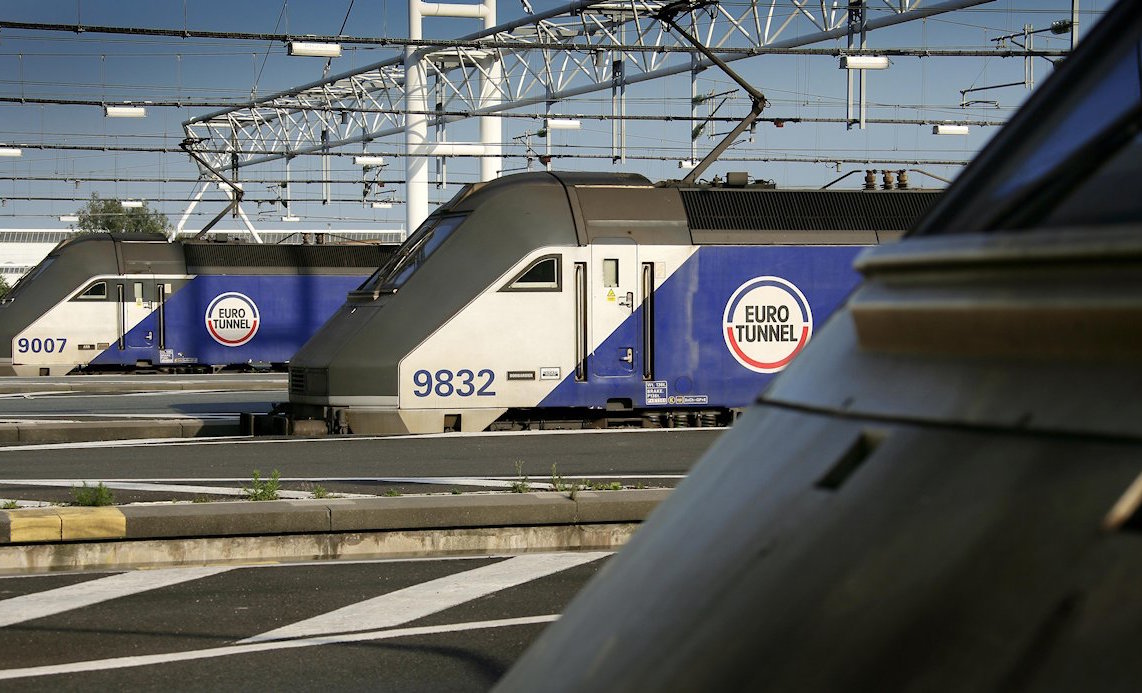 Eurotunnel Le Shuttle freight 1 Million trucks 2016