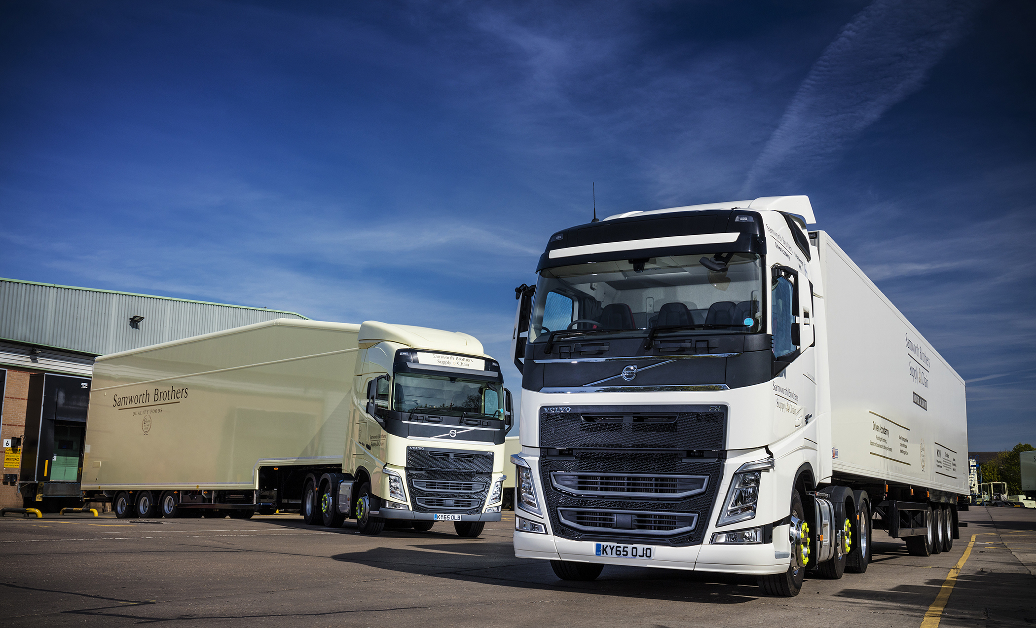 First Ever Volvo Trucks for Samworth Brothers Supply Chain   Fleet UK Haulier