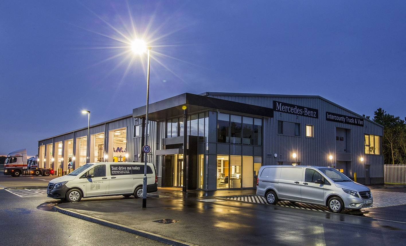 Intercounty opens high profile mercedes benz dealership in for Mercedes benz dealers in germany