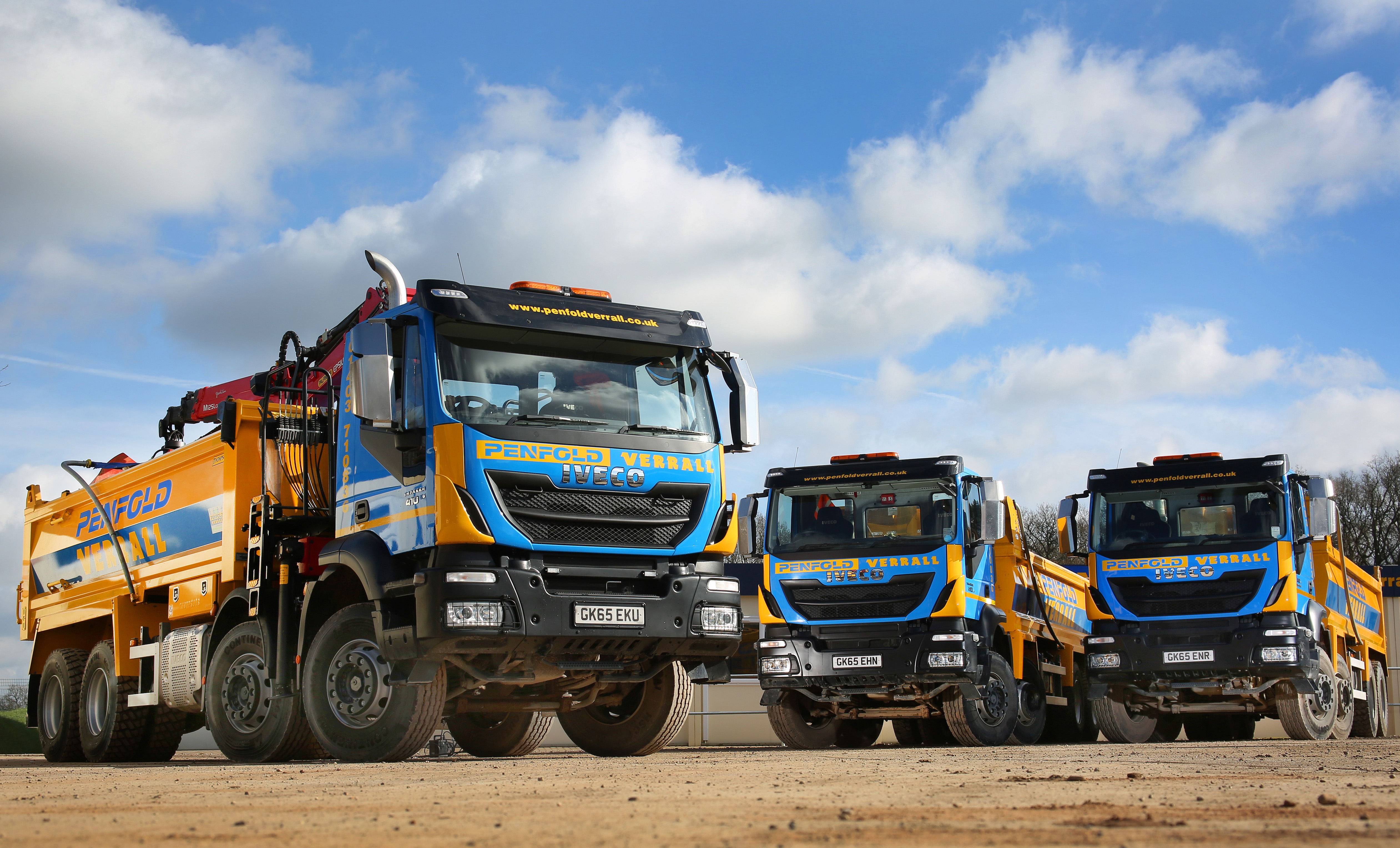 Construction Support Firm Penfold Verrall Builds Up Tipper