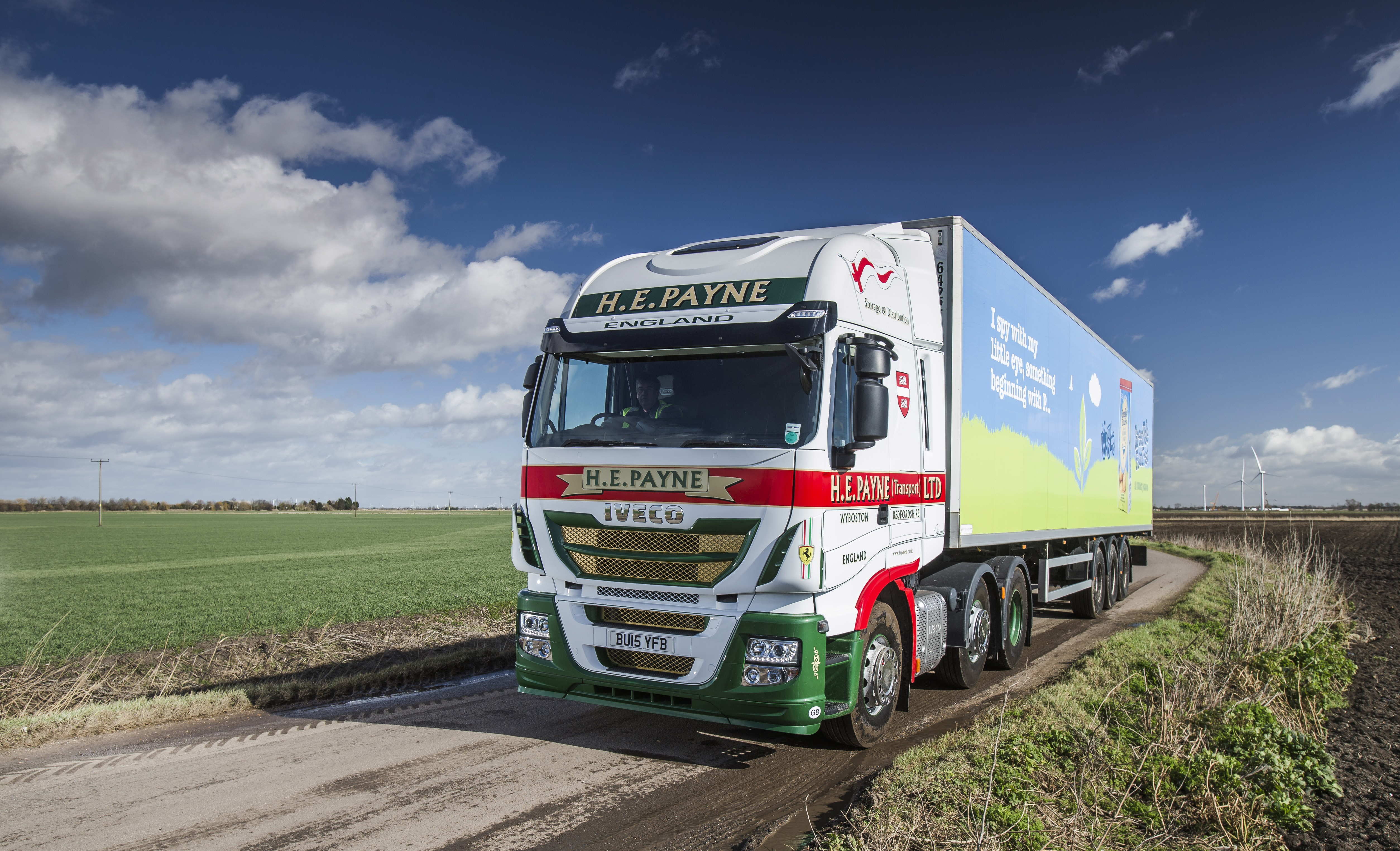 Iveco Stralis Demonstrator Secures Conquest Order From He