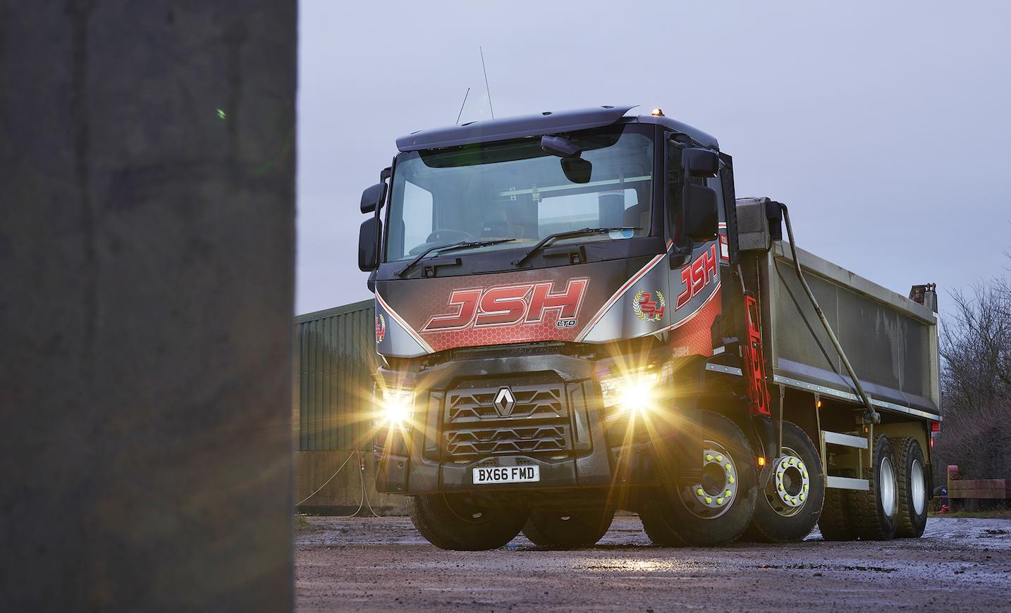 Renault Trucks First Class Dealer Support Wins Over Jsh