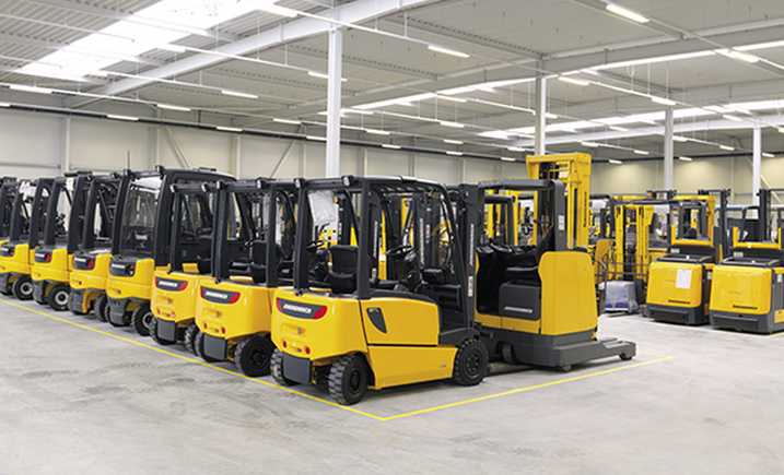 Circle Express Renews Forklift Truck Fleet With