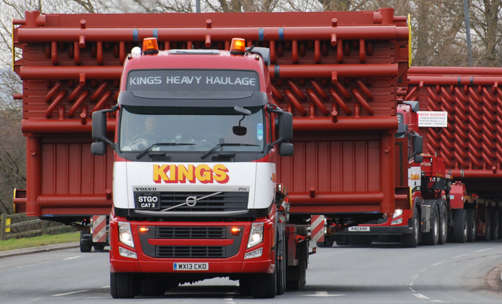 Bristol based firm, Kings Heavy Haulage, is to star in