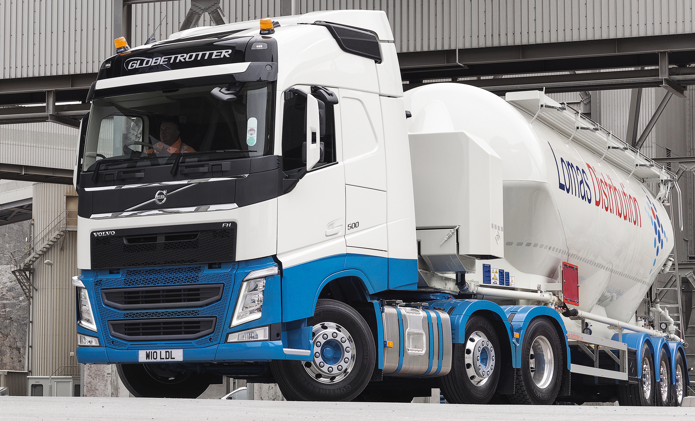 Lomas Distribution Makes Major Investment With 70 Volvo