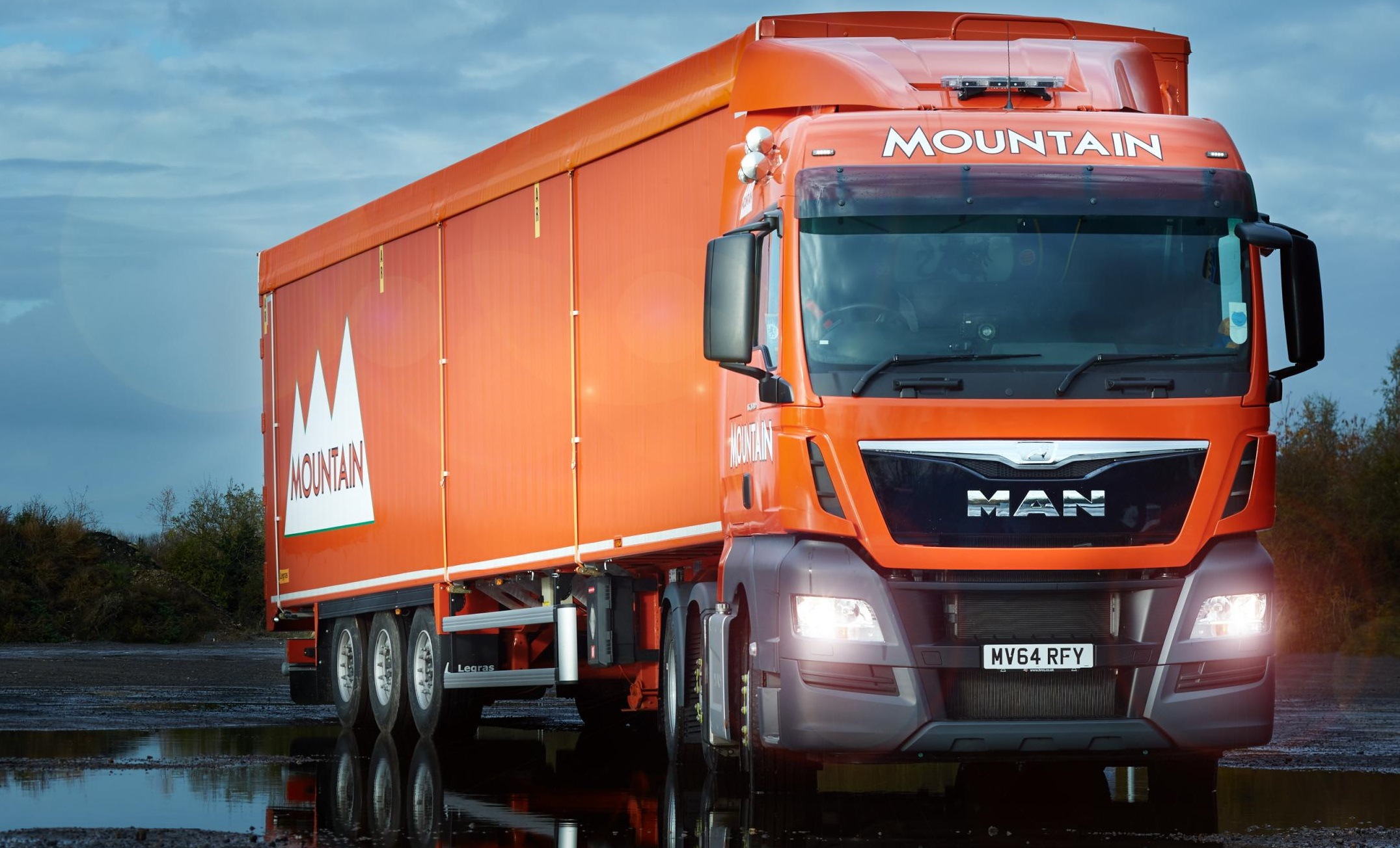 Sleaford Waste Operator Takes First Euro 6 Man Trucks Uk