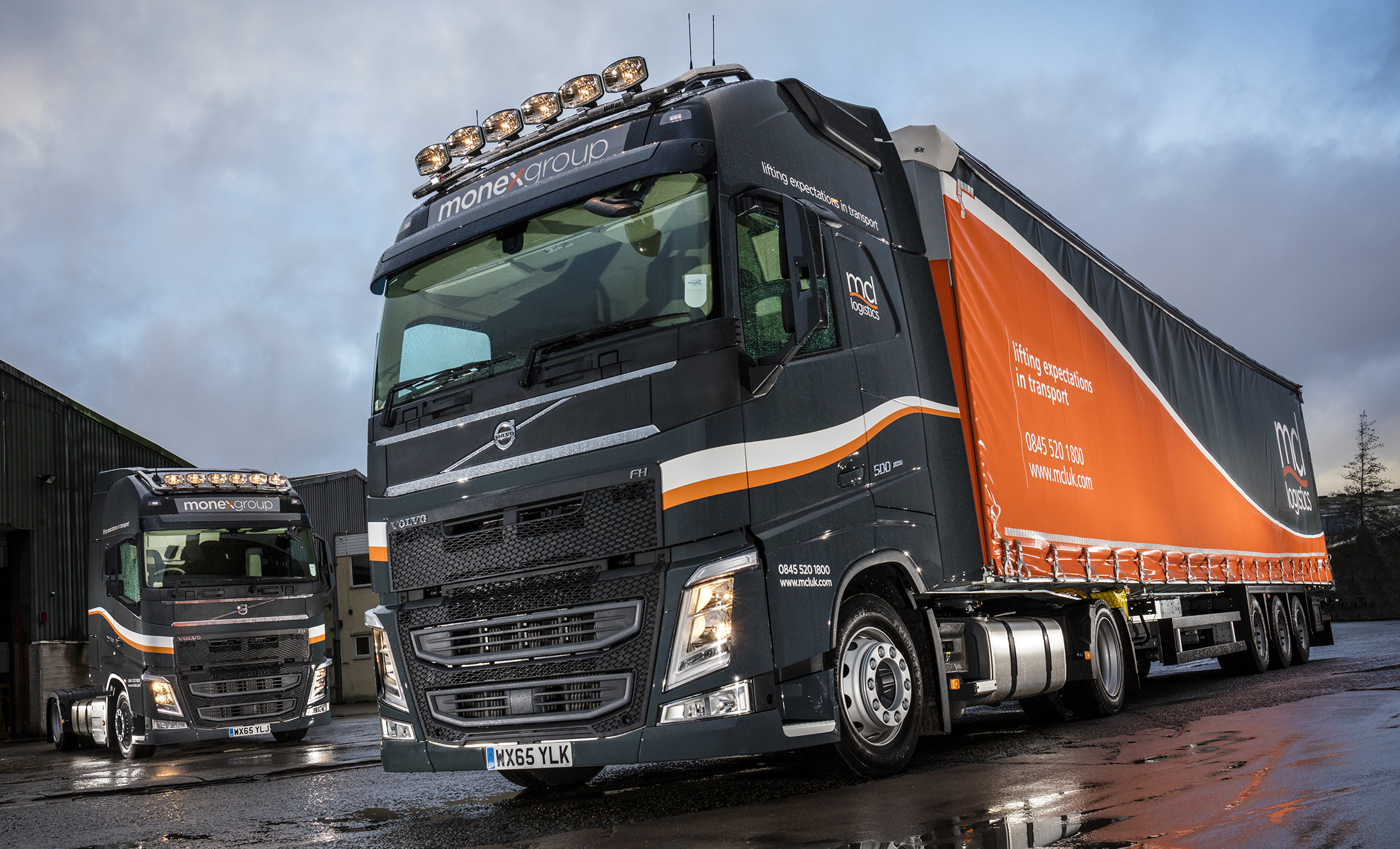 MCL Logistics X-Low Height Volvo FH has 'X' Appeal for drivers | Fleet UK Haulier