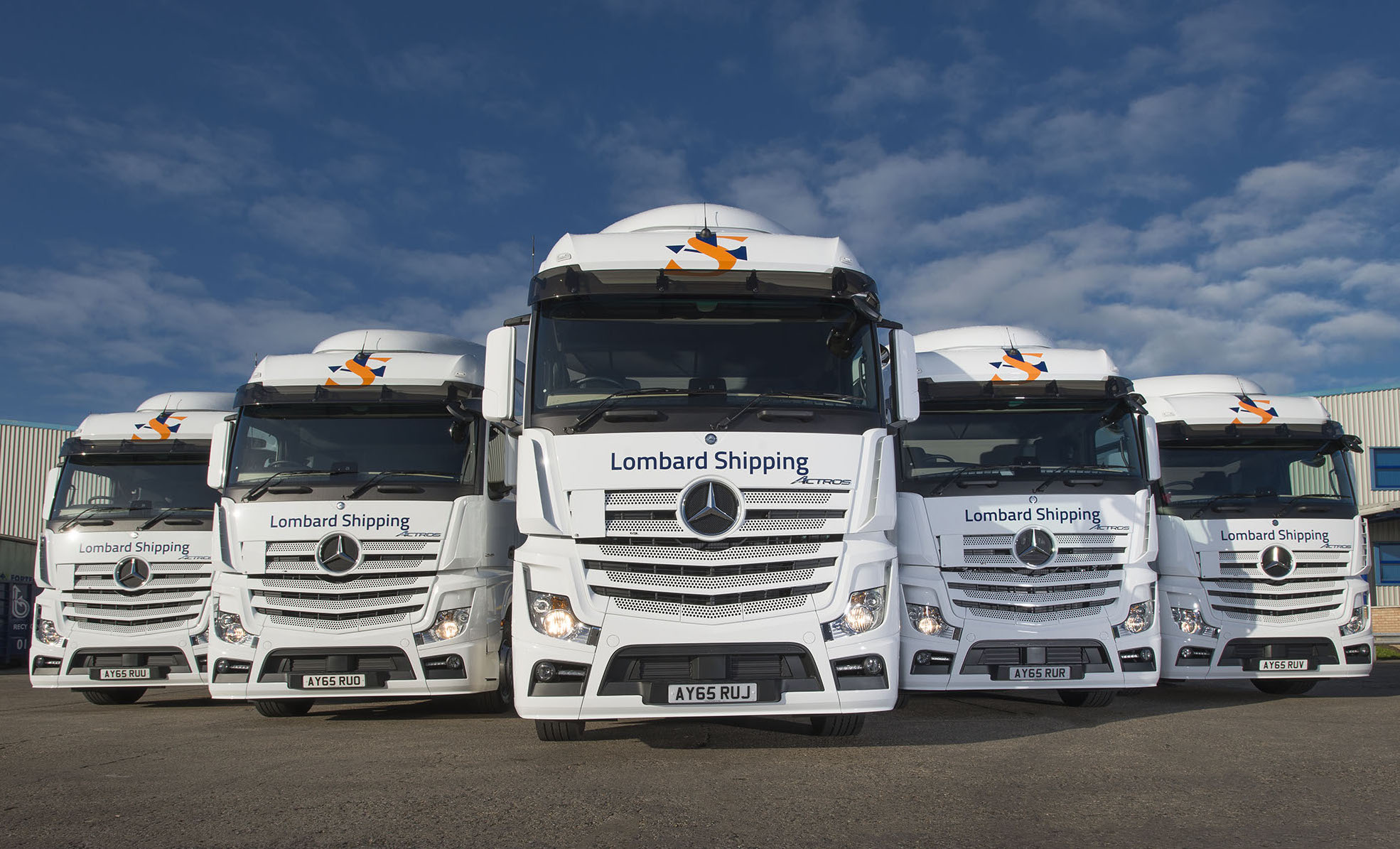 Lombard shipping sails on with five star mercedes benz for Mercedes benz fleet