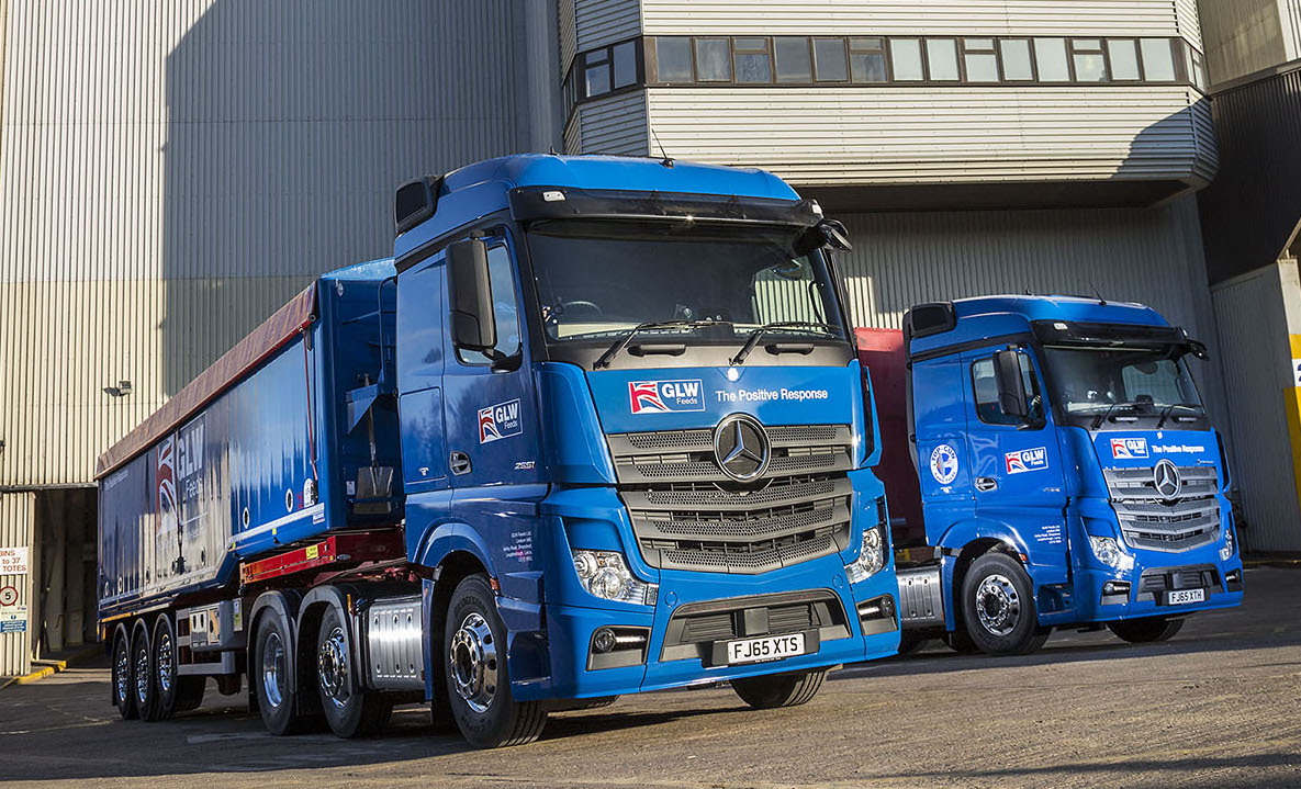 Mercedes Benz Actros Takes The Field For Glw Feeds Fleet