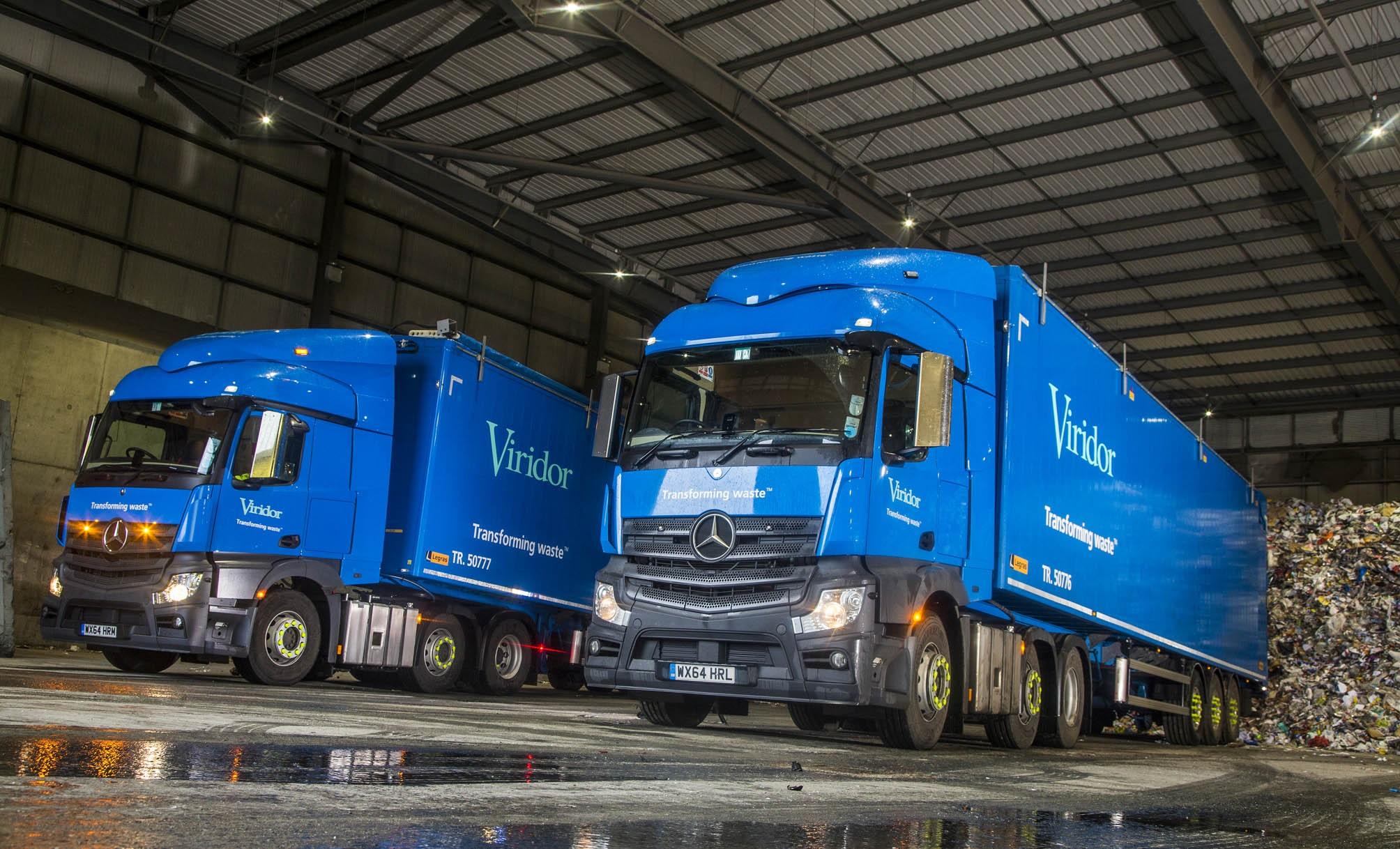 Viridor Turns Rygor For First Mercedes Benz Truck Order Trucks Haulier