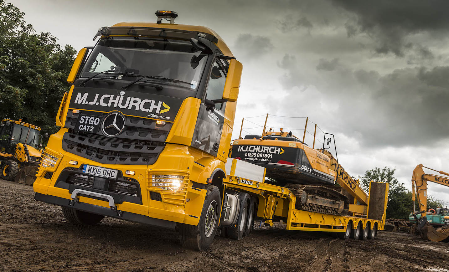 Mercedes-Benz Arocs wins high praise from MJ Church ...