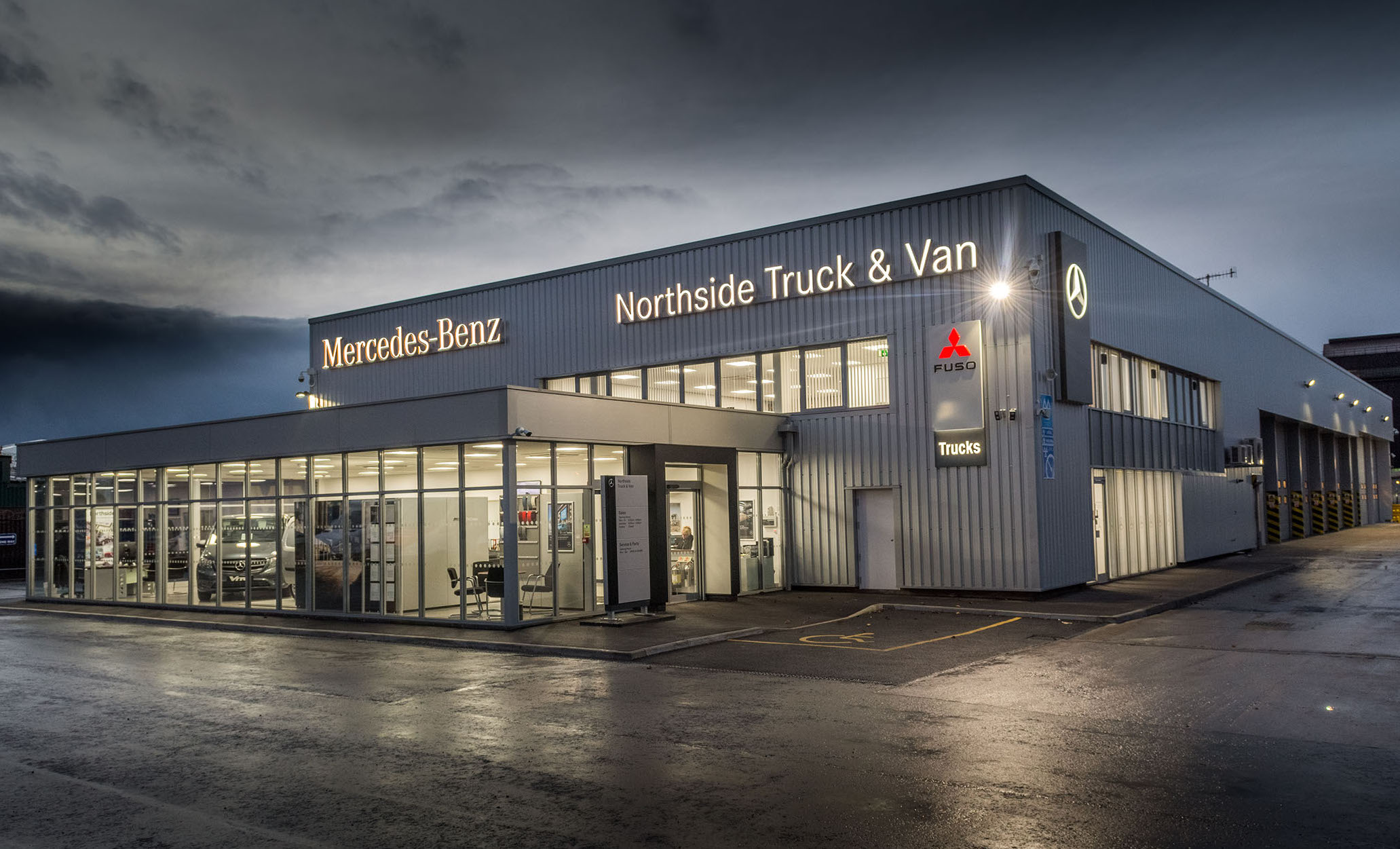 Northside truck van s star rises in sheffield for Mercedes benz retail careers