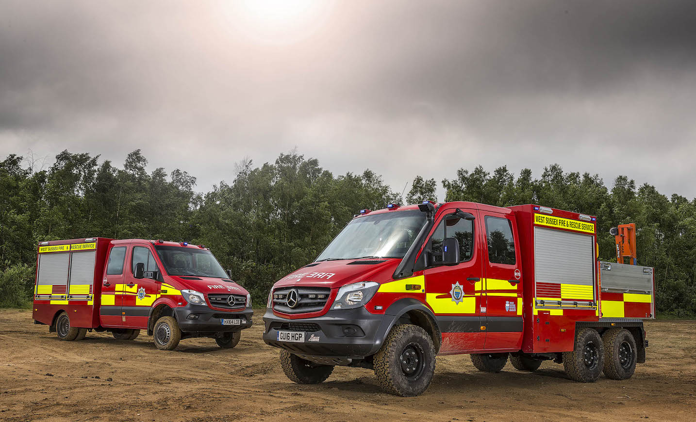 West Sussex Fire Chiefs Blaze A Trail With First 6 215 6