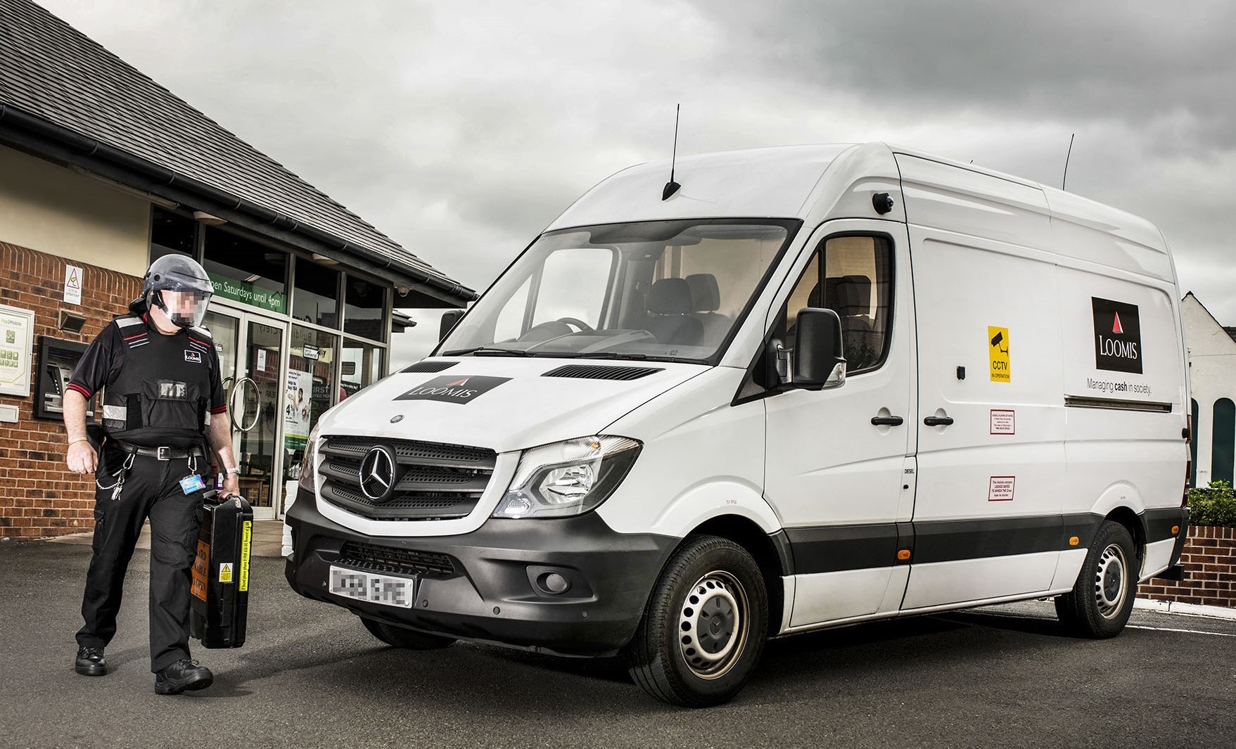 Loomis locks in reliability and safety with mercedes benz for Mercedes benz service contract