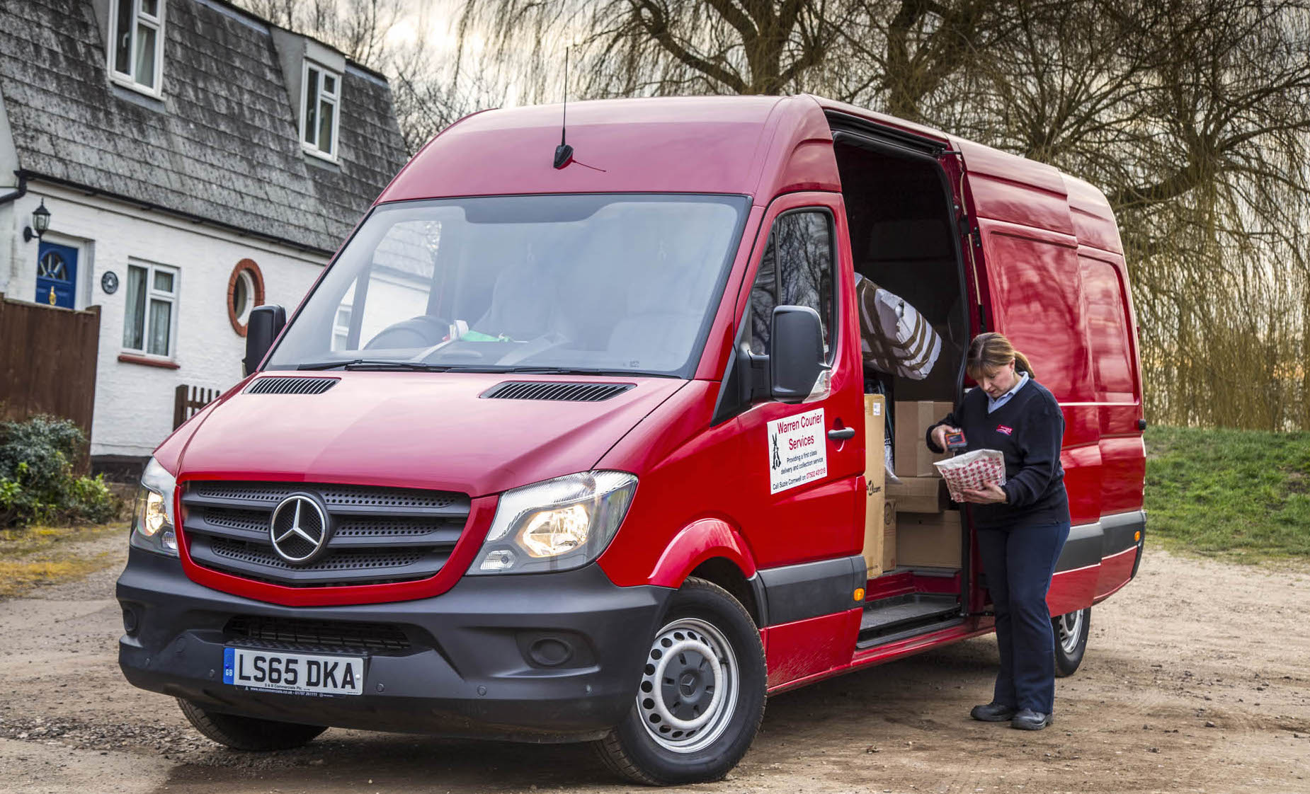 Mercedes benz sprinter delivers for self employed suzanne for Mercedes benz southampton service