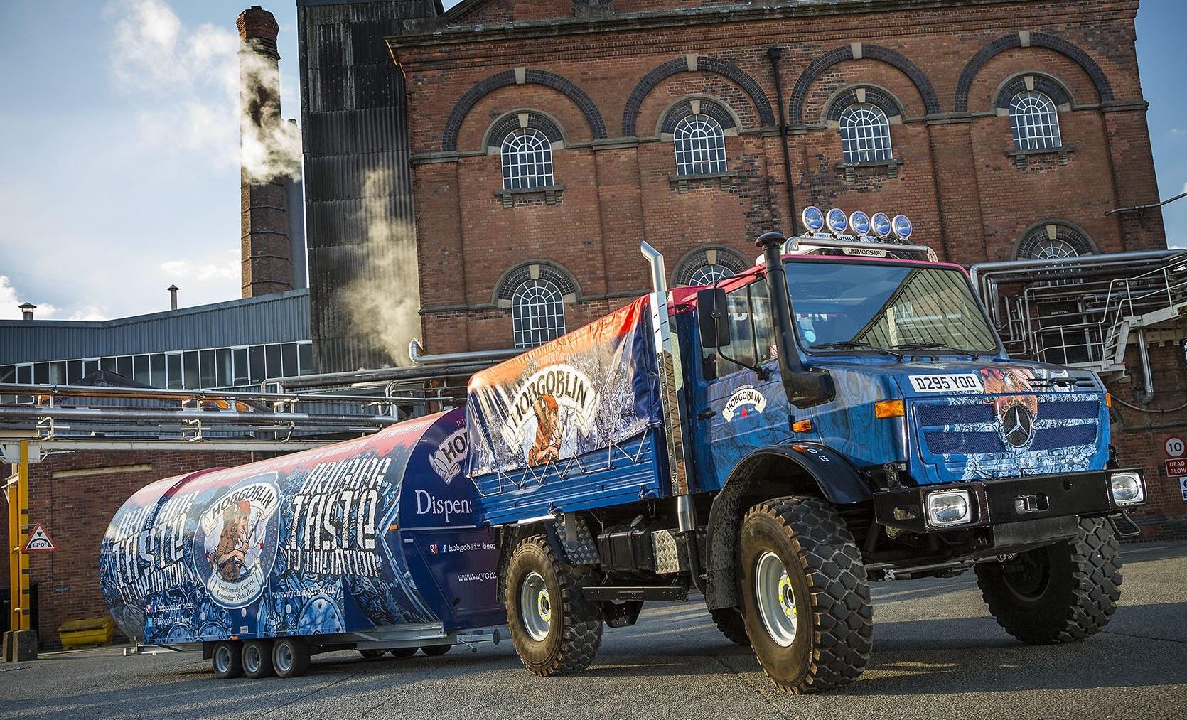 Bevan ensures 'HobMog' hits the road on time   Trucks UK ...