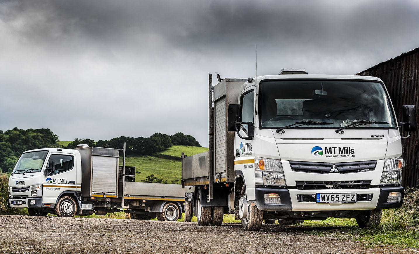 FUSO Canter ticks all the boxes for MT Mills | Fleet UK Haulier